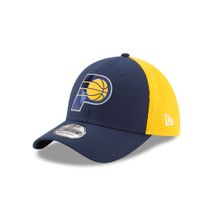 New Era NBA INDIANA PACERS 2017 Authentic On-Court 39THIRTY Stretch Fit Cap