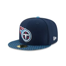 New Era NFL TENNESSEE TITANS Authentic 2017 Sideline 59FIFTY Game Cap