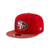 New Era NFL SAN FRANCISCO 49ERS Authentic 2017 Sideline 59FIFTY Game Cap