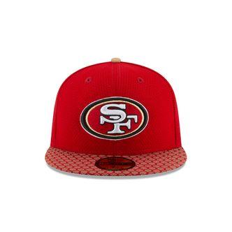 New Era NFL SAN FRANCISCO 49ERS Authentic 2017 Sideline 59FIFTY Game Cap – Bild 2