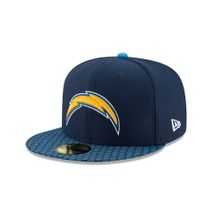 New Era NFL LOS ANGELES CHARGERS Authentic 2017 Sideline 59FIFTY Game Cap