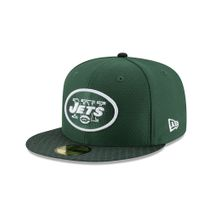 New Era NFL NEW YORK JETS Authentic 2017 Sideline 59FIFTY Game Cap