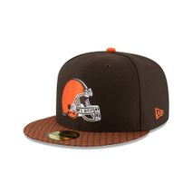 New Era NFL CLEVELAND BROWNS Authentic 2017 Sideline 59FIFTY Game Cap