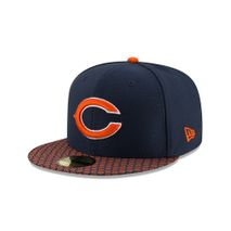 New Era NFL CHICAGO BEARS Authentic 2017 Sideline 59FIFTY Game Cap