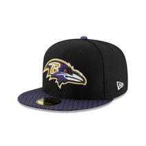 New Era NFL BALTIMORE RAVENS Authentic 2017 Sideline 59FIFTY Game Cap