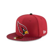 New Era NFL ARIZONA CARDINALS Authentic 2017 Sideline 59FIFTY Game Cap