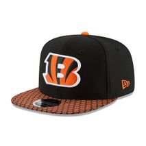 New Era NFL CINCINNATI BENGALS Authentic 2017 Sideline 9FIFTY Snapback Game Cap