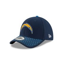 New Era NFL LOS ANGELES CHARGERS Authentic 2017 Sideline 39THIRTY Stretch Fit Game Cap