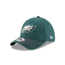 New Era NFL PHILADELPHIA EAGLES Authentic 2017 Sideline 39THIRTY Stretch Fit Game Cap