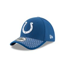 New Era NFL INDIANAPOLIS COLTS Authentic 2017 Sideline 39THIRTY Stretch Fit Game Cap