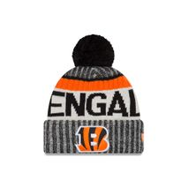 New Era NFL CINCINNATI BENGALS Authentic 2017 Sideline Bobble Knit (Wintermütze)