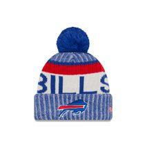 New Era NFL BUFFALO BILLS Authentic 2017 Sideline Bobble Knit (Wintermütze)