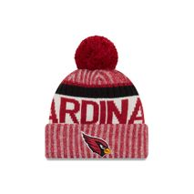 New Era NFL ARIZONA CARDINALS Authentic 2017 Sideline Bobble Knit (Wintermütze)
