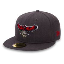 New Era NBA ATLANTA HAWKS Heather 59FIFTY Game Cap