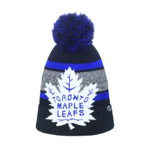 Zephyr NHL TORONTO MAPLE LEAFS Mammoth Bobble Knit (Wintermütze)