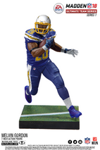 McFarlane NFL Madden 18 Ultimate Team Series 1 MELVIN GORDON #28 - Los Angeles Chargers Figur