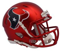 Riddell NFL HOUSTON TEXANS Blaze Alternate Speed Mini Footballhelm