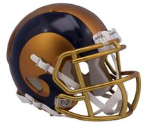 Riddell NFL LOS ANGELES RAMS Blaze Alternate Speed Mini Footballhelm