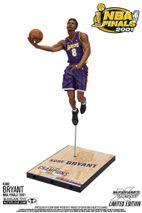 McFarlane NBA KOBE BRYANT #8 - Los Angeles Lakers Championship Series 2001 Figur