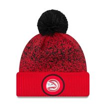 New Era NBA ATLANTA HAWKS On-Court 2017 Bobble Knit (Wintermütze)