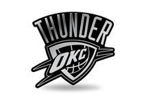 Rico Industries NBA OKLAHOMA CITY THUNDER 3D Auto Chrom Aufkleber
