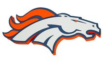 Foam Fanatics NFL DENVER BRONCOS 3D Foam Wandlogo
