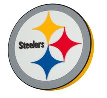 Foam Fanatics NFL PITTSBURGH STEELERS 3D Foam Wandlogo