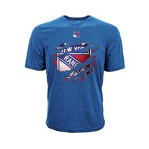 Levelwear NHL NEW YORK RANGERS Ripped SS T-Shirt