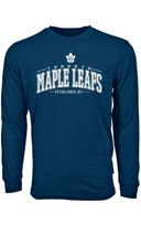 Levelwear NHL TORONTO MAPLE LEAFS Mesh Text Long Sleeve Sweatshirt