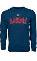 Levelwear NHL NEW YORK RANGERS Mesh Text Long Sleeve Sweatshirt