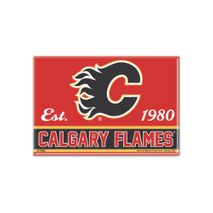 WinCraft NHL CALGARY FLAMES Metall Magnet