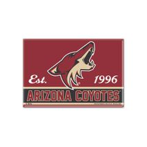 WinCraft NHL ARIZONA COYOTES Metall Magnet