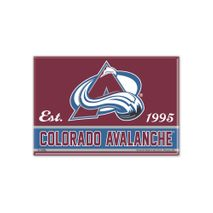 WinCraft NHL COLORADO AVALANCHE Metall Magnet