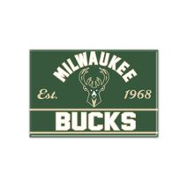 WinCraft NBA MILWAUKEE BUCKS Metall Magnet
