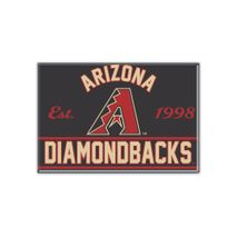WinCraft MLB ARIZONA DIAMONDBACKS Metall Magnet
