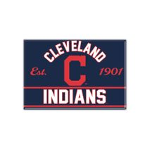 WinCraft MLB CLEVELAND INDIANS Metall Magnet