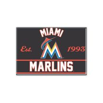 WinCraft MLB MIAMI MARLINS Metall Magnet