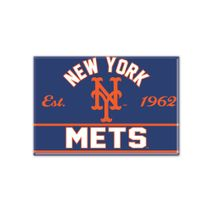 WinCraft MLB NEW YORK METS Metall Magnet