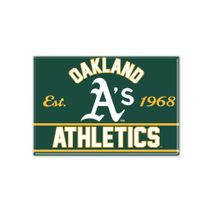 WinCraft MLB OAKLAND ATHLETICS Metall Magnet