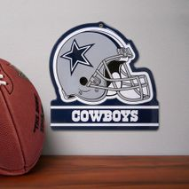 Party Animal NFL DALLAS COWBOYS Metall Helm Schild