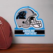 Party Animal NFL CAROLINA PANTHERS Metall Helm Schild