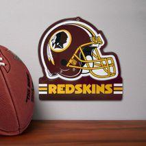 Party Animal NFL WASHINGTON REDSKINS Metall Helm Schild
