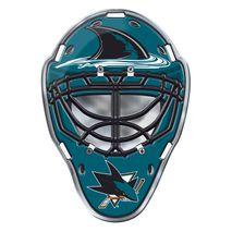 Team Promark NHL SAN JOSE SHARKS Mask Auto Emblem
