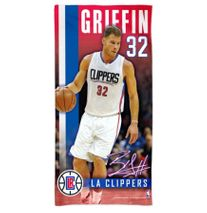 WinCraft NBA LOS ANGELES CLIPPERS Spectra Player Strandtuch 75 cm x 150 cm