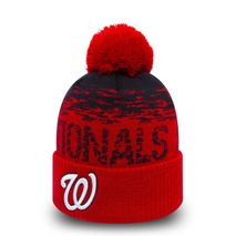 New Era MLB WASHINGTON NATIONALS Sport Sideline Bobble Knit (Wintermütze)