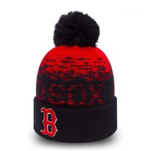 New Era MLB BOSTON RED SOX Sport Sideline Bobble Knit (Wintermütze)