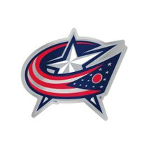 WinCraft NHL COLUMBUS BLUE JACKETS Auto Team Aufkleber