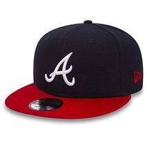 New Era MLB ATLANTA BRAVES Team 9FIFTY Snapback Cap