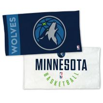 WinCraft NBA MINNESOTA TIMBERWOLVES Authentic On-Court Bench Handtuch 107cm x 56cm