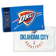 WinCraft NBA OKLAHOMA CITY THUNDER Authentic On-Court Bench Handtuch 107cm x 56cm
